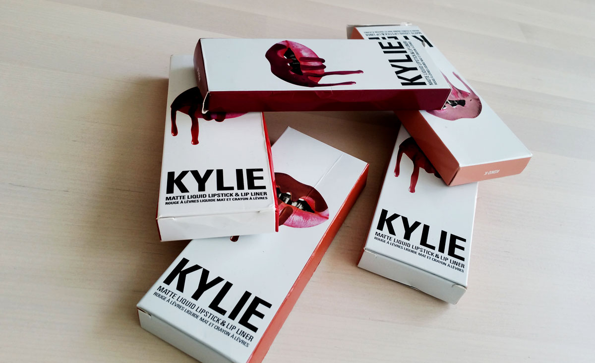 Kylie Jenner lip kits replica darieflavour