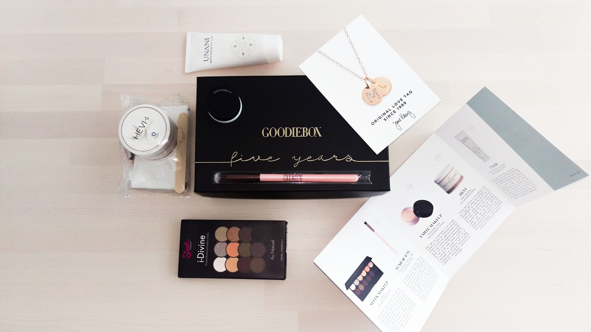 Goodiebox Magasin Februar 2017 darieflavour