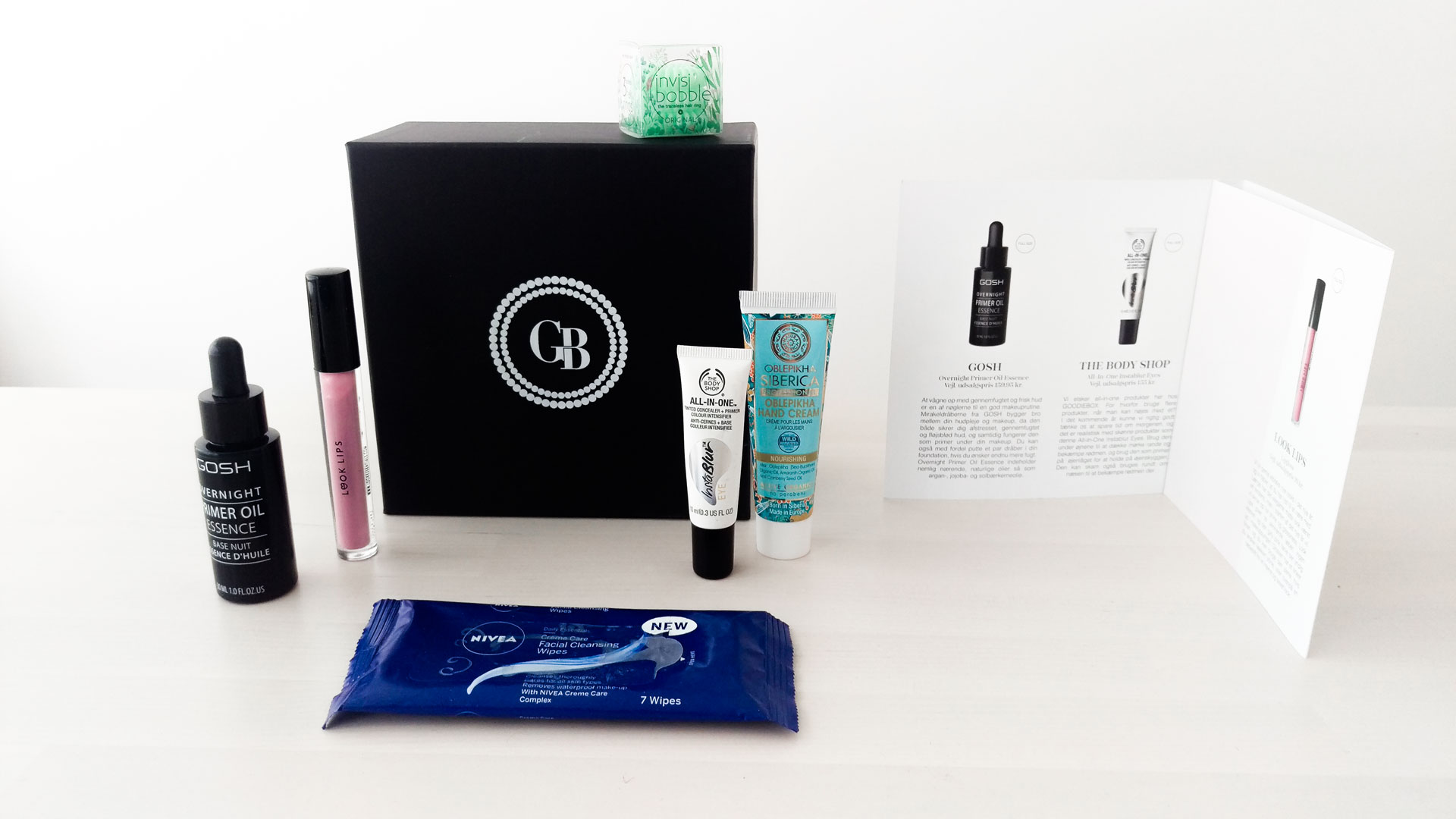 Magasin Goodiebox Januar 2017 unboxing