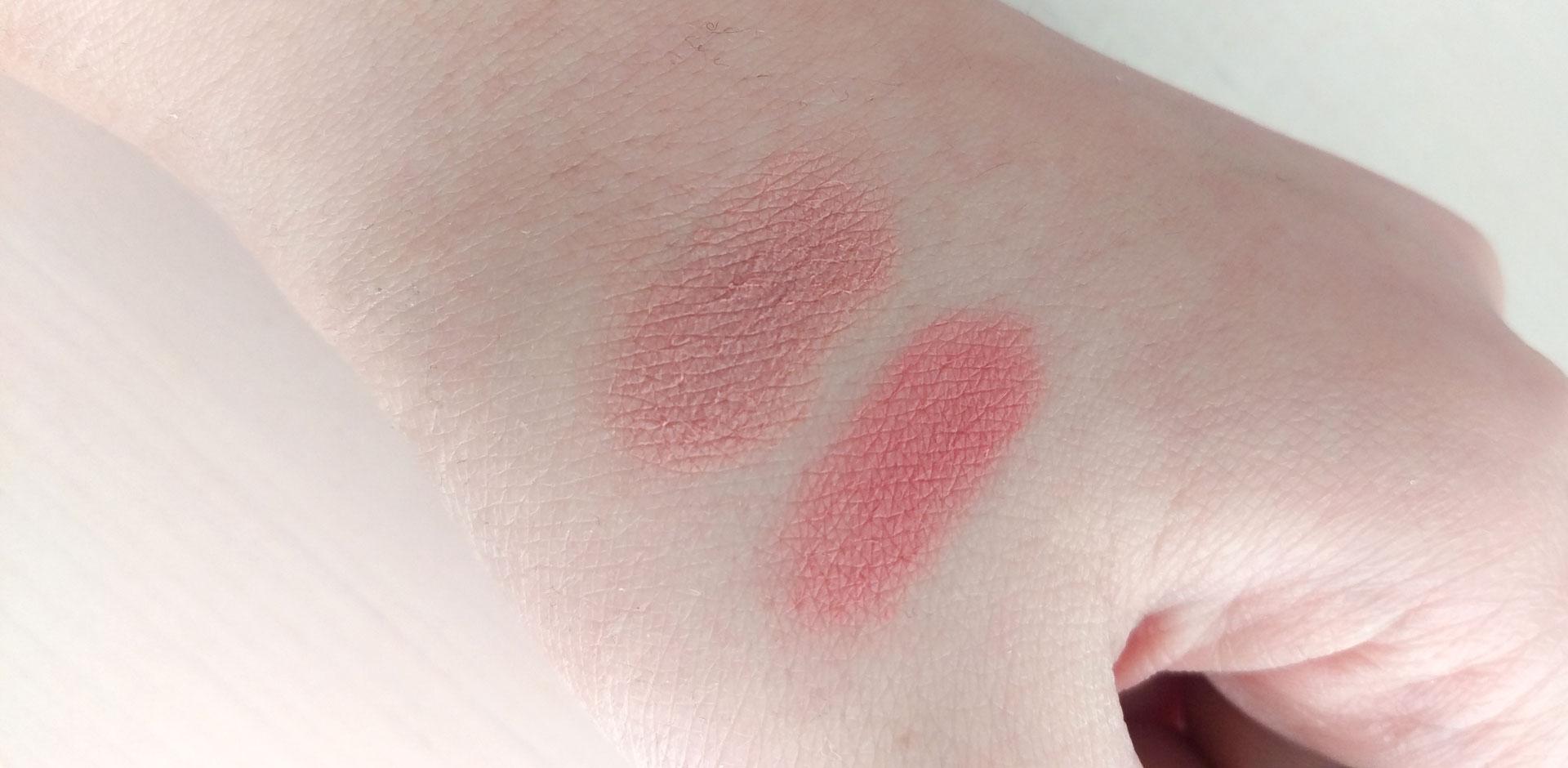 Makeup Revolution Blush Swatches darieflavour