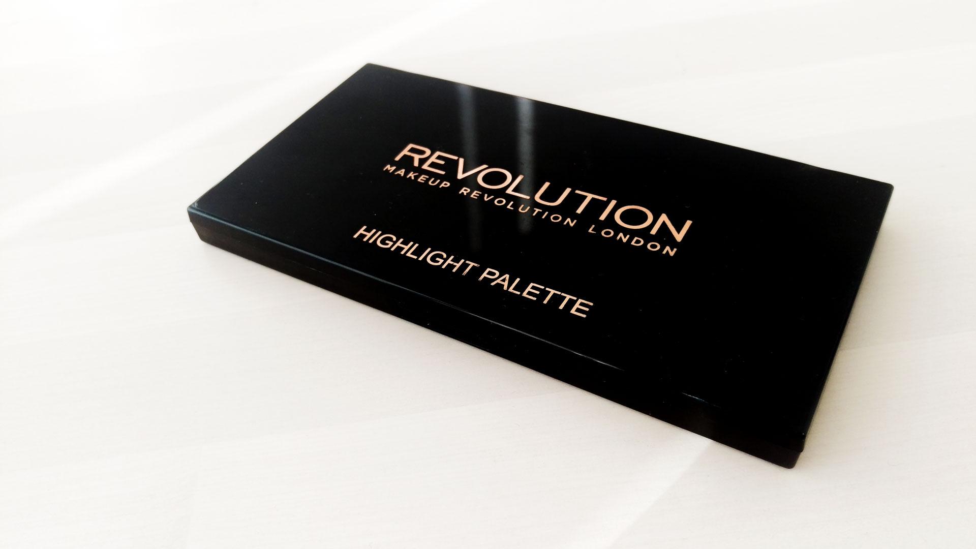 Makeup Revolution Highlighter Palette darieflavour