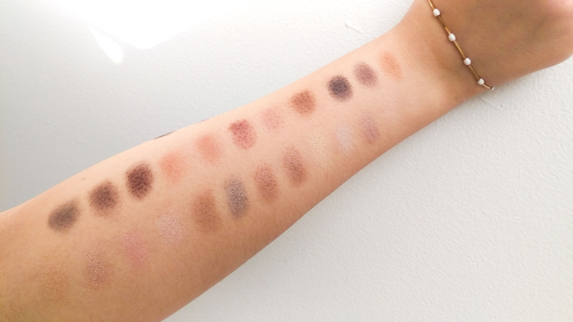 Makeup Revolution Ultra Flawless Eyeshadow Palette Swatches darieflavour