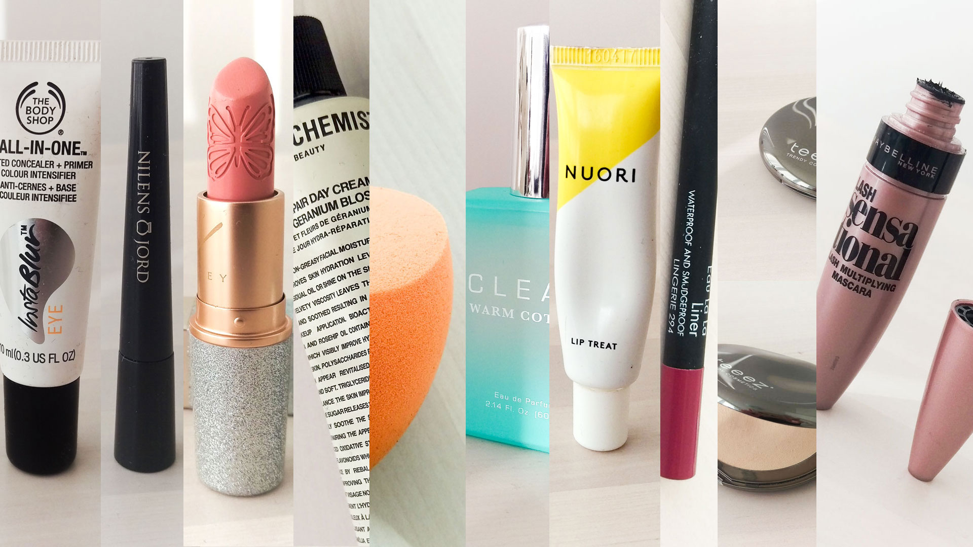 Top 10 Beauty Produkter Marts 2017 darieflavour